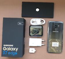 SAMSUNG GALAXY S7 EDGE  32GB G935U ORIGINAL NEGRO LIBRE  - CAJA + ACCESORIOS
