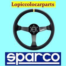 SPARCO VOLANTE 3 RAZZE CALICE mod. R345 IN PELLE NERA COD. 015R345MLN