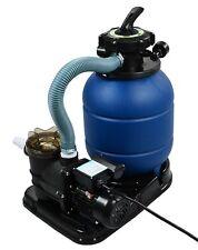 """2400GPH 13"""" Sand Filter w/ Swimming Pool Pump UL List 10000GAL 4 Way New Kit Set"""