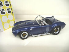 1:18 Kyosho Shelby Cobra 427 S/C  blue metallic 1. Edition NEU NEW