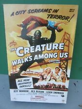 "Sideshow CREATURE WALKS AMONG US 12"" Figure MIB - Black Lagoon 2003"