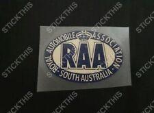 RAA Decal Window Sticker - Royal Automobile Association South Australia