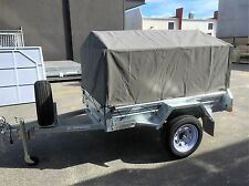 6x4 600mm Heavy Duty Ripstop Canvas Trailer Cover