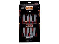 Bahco Be-9882sl Slim Ergo Insulated Screwdriver Sl/pz 5pc Set