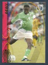 PANINI WORLD CUP 2002- #084-NIGERIA & SHALKE 04-VICTOR AGALI