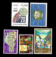 "ALGERIA. Stamps issued in 1980. Lot ""LT-C"". MNH (1)"
