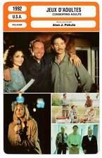 FICHE CINEMA : JEUX D'ADULTES - Kline,Elizabeth,Spacey 1992 Consenting Adults