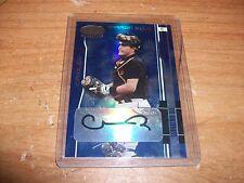 2003 Leaf Mirror Blue Baseball Geronimo Gil Rookie Auto Card 08/50 Orioles
