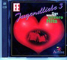 (EI306) Das Waren Unsere Hits, Jugendliebe 3, 2CDS  - 1994 CD