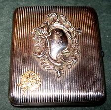 Zigarettenetuit Tabatiere Silber 84 Moskau um 1900
