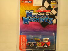 "Nascar  "" 24""  DUPONT CAR 1:64 scale  NEW ITEM- Muscle Machines"