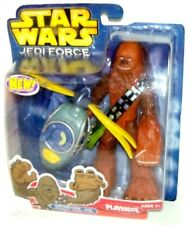 "Star Wars Playskool Jedi Force Chewbacca with Wookiee Flyer 7"" Figure!"