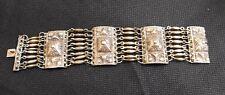 Vintage Handcrafted Sterling Silver Bracelet