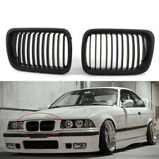 Matte Black Front Kidney Grille for BMW E36 97-99 1998 1997 Auto Car New CA00
