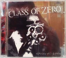 Class of Zero - Nothing Will Survive (CD 2004) Metal