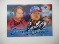 Dale Earnhardt Sr,David Smith 2x Auto 1996 CROWN JEWELS #3 RARE WC Card #56