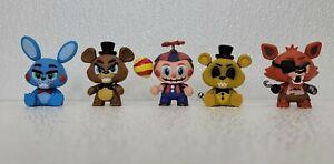 "Lot of 5 FUNKO ""Five Nights At Freddy's"" FNAF"" PVC Vinyl Mini Figures"
