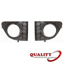 FRONT BUMPER FOG GRILLE WITH LAMP HOLE PAIR LEFT & RIGHT FIAT PUNTO 2012- NEW