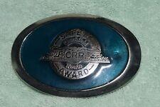 GA-002 - Clinchfield Railroad, CRR Safety Award Belt Buckle Advertising Vintage