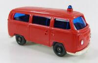 VW Bus T2 Feuerwehr rot Wiking 1:87 H0 ohne OVP [SU4-A2]