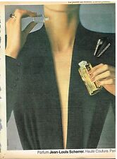 Publicité Advertising 1981 Parfum Jean-Louis Scherrer