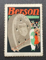Cinderella Poster Stamp Germany Berson (7624)