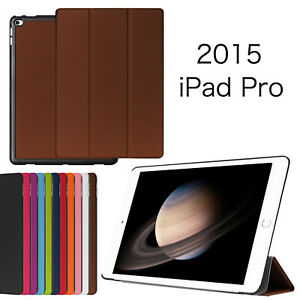 ES SMART PREMIUM PU LEATHER THIN CASE COVER FOR ALL  APPLE IPAD PRO 12.9 Brown