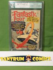 Fantastic Four #3 PGX 9.2  -  minor resto, 1st costumes & FF car... ow/w pages