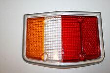 Treser Rückleuchten-Glas LINKS Chromrahmen passend Ford Taunus GXL