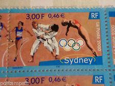 FRANCE 2000, timbre 3341, SPORT, JEUX OLYMPIQUES SYDNEY, neuf**, MNH STAMP