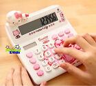 Hello Kitty Basic Desktop Electronic Calculator White
