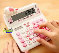 Hello Kitty Basic Desktop Electronic Calculator White