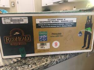 RedHead Neoprene Wader ~ Classic Series II Thinsulate sz 9