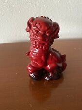 Royal Doulton Red Fo Dog Figurine