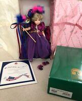 "Robin Woods Orchid I Hear America Singing 14"" Doll Box Shipper COA Limited Ed."