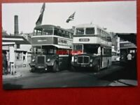 PHOTO  DOUGLAS BUSES REG LEYLAND PD2/1 KMN 505 AND AEC REGENT 410 LMN