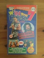 WWF IN YOUR HOUSE 7 VHS WRESTLING VIDEO TAPE WWE NOT DVD DIESEL HBK 1996 WCW ECW