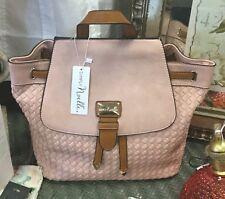 Noelle Basket Weave Backpack