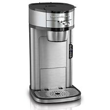 Hamilton Beach The Scoop Single Serve Coffee Maker, Stainless Steel | 49981