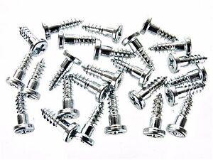 Ford Ranger & Bronco II Windshield Trim Molding Clip Screw-In Studs- 25 pcs #221