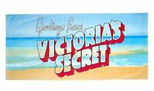 Victoria's Secret Greetings From VS Beach Towel, Pool Turquoise Water Getaway!