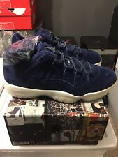 AIR JORDAN 11 RETRO LOW DEREK JETER RE2PECT MENS SIZE 11 DEADSTOCK