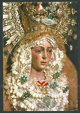Postal Virgen de la Macarena andachtsbild santino holy card santini