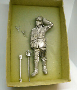 Real Models 90mm White Metal Lt. Bromhead Rorkes Drift 1879  Unpainted EW-MM