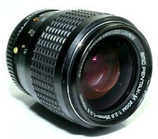 PENTAX SMC M 35-70mm 2.8-3.5 PK Mount Zoom Camera Lens + Caps & Case