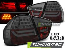 BMW 3er E90 Limousine Lightbar LED Rückleuchten Rot Smoke Glas + LED Blinker