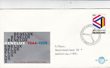 Netherlands 1969 25th anniversary of Benelux Customs Union FDC VGC No.98