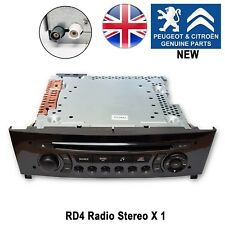 Peugeot 308 Radio CD MP3 player RDS Stereo RD4 N2M New Genuine