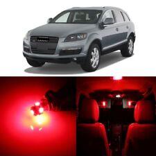 16 x Error Free Red LED Interior Light Kit For 2007 - 2009 Audi Q7 + Pry TOOL