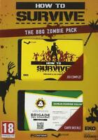 How to survive the BBQ zombie pack - Jeu PC - Neuf - FR